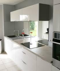 credence cuisine sur mesure cuisine credence miroir avec credence cuisine miroir crdence verre