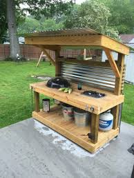how to build an outdoor kitchen with wood frame outdoor kitchen