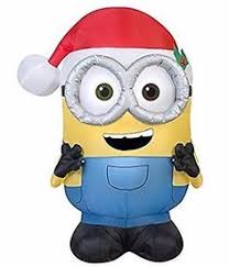Inflatable Christmas Decorations Outdoor Cheap - holiday living 3 51 ft internal light minion christmas inflatable