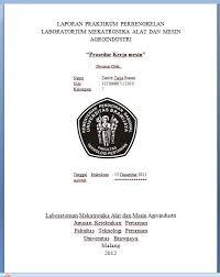 format laporan praktikum cover laporan praktikum