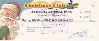 bob lemke u0027s blog collecting colorful christmas club checks