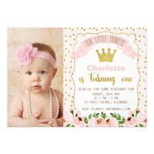 1st birthday invitations u0026 announcements zazzle co uk
