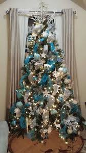 Decorated Christmas Tree Images by Teal Christmas Tree Decorations Christmas Decorations