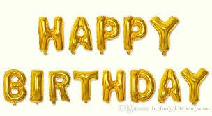 letter balloons happy birthday alphabet air balloons birthday party decoration