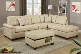 Sectional Sofa Bed With Storage Furniture Black Leather Sectional Sofa With Storage For Living