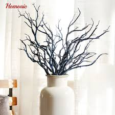 witch deer horn shape dried plants beautiful artificial small