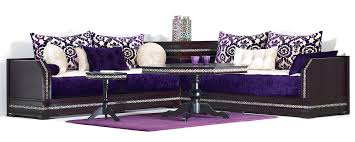 deco salon marocain deco salon moderne violet u2013 chaios com