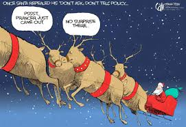 a disgruntled republican in nashville a christmas cartoon book