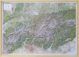 The Alps On World Map by Beautiful Raised Relief Map Alps 1 500 000 As 3d Map