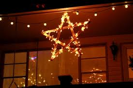 christmas sticks with lights diy lighted wooden stars yard sticks star and lights