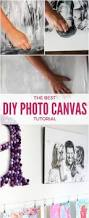 diy photo canvas prints with authentic texture designertrapped com
