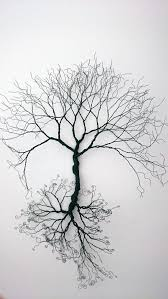 wire wall tree of wall decoration by wireartbycatherine