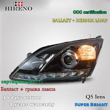 honda crv headlight replacement hireno car styling headl for 2007 2011 honda crv cr v headlight