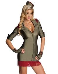 licensed playboy bombshell military army womens halloween