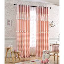 Pink Gingham Curtains Plaid Curtains Check Curtains Gingham Curtains