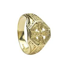 celtic rings celtic cross ring