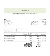 occupyhistoryus marvelous tax invoice templates free word excel