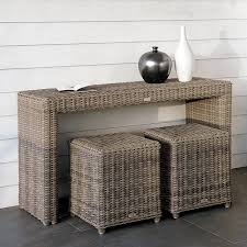 outdoor console table manutti san diego outdoor console table