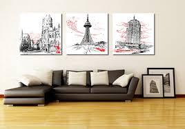 modern art for home decor 3 piece canvas art home decoration wall art abstract canvas
