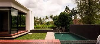 luxury contemporary villas in bali cabana pool villa origin ubud