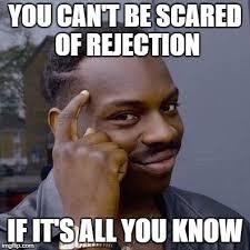 Rejection Meme - thinking black guy imgflip