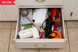 how to organise kitchen utensils drawer kitchen utensil drawer organizing makeover kitchn
