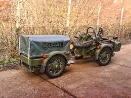 ural motorcycle towing trailer google search motorcycle