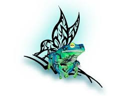 tribal frog by fracyle on deviantart