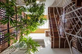 architecture staircase large home in kerala india decoration