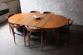 oval teak dining table breathtaking johannes andersen danish modern teak dining table and