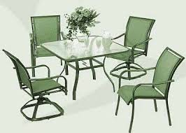 Green Patio Chairs Green Patio Set Home Design Ideas And Pictures