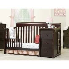 crib u0026 changing table combo you u0027ll love wayfair
