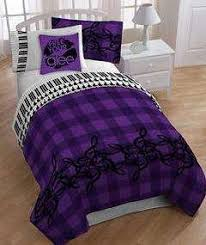 Purple Comforter Twin Black And Purple Bedding Pc Purple Black Comforter Set Micro Suede