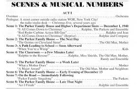 Radio Theatre Christmas Scripts Jean Shepherd A Christmas Story Part 4 The Musical Shepquest