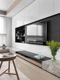 Tv Cabinet Designs For Living Room Tv Unit Wall With Black Background To Hide The Tv Tv Unit
