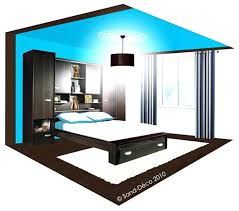 chambre marron et turquoise deco chambre turquoise chambre ado avec peinture a effet nacrac