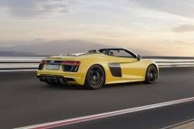 price of an audi r8 v10 2017 audi r8 convertible pricing for sale edmunds