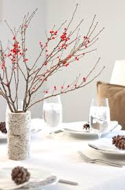 berry u0026 birch christmas table setting