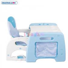 bureau et chaise pour bébé chaise haute bureau mamalove pour bébé