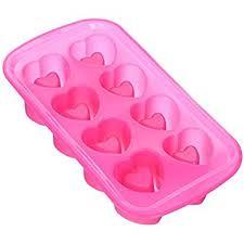 heart shaped items wilton 8 cavity heart shaped silicone glass mold