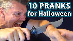 10 top halloween pranks on family youtube