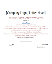 internship certificate template 11 free word pdf document