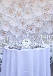 wedding unique backdrop unique paper roses can be used for unique wedding decorations