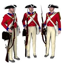 British Soldier Halloween Costume 1776 British Soldier 3d Models Philc