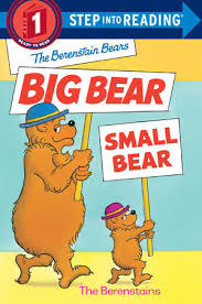 berenstien bears step into reading the berenstain bears big small