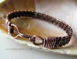 wire woven bracelet images Copper wire woven bracelet zoraida artfire gallery jpg