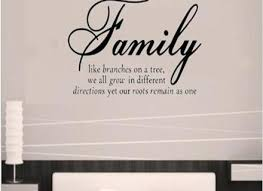 family like branches creative home decor decorative wall stickers