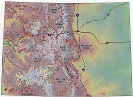topographic features colorado geological survey