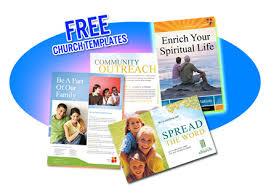 fliers templates free religious flyer templates free church flyer and postcard