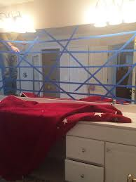 How To Hang A Large Bathroom Mirror - how to safely and easily remove a large bathroom builder mirror